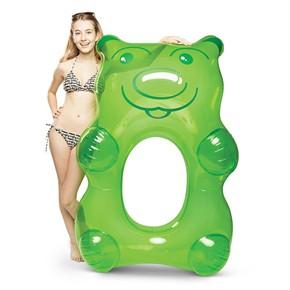 Giant Gummy Bear Pool Float - Green