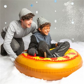 Giant Pizza Snow Tube