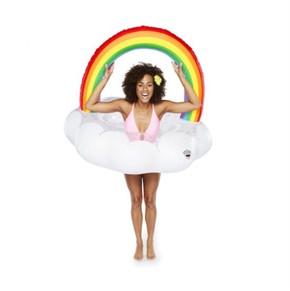 Giant Rainbow Pool Float