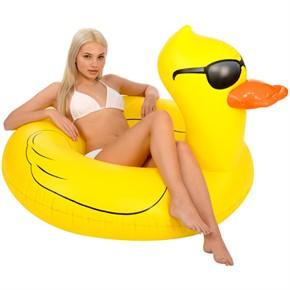 Giant Yellow Duck Pool Float - 49 in