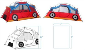 Gigatent Kids Car Tent