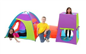 Gigatent Kids Tent with Tunnel