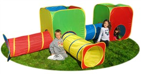 Gigatent Mega Cubes and Tubes Kids Tent