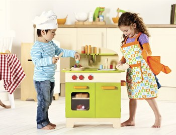Gourmet Chef Toy Kitchen  - Green