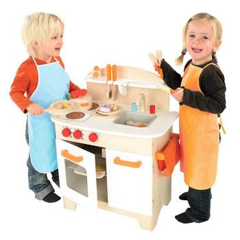 Gourmet Chef Toy Kitchen  - White