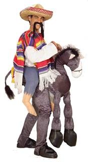 Hey Amigo Mexican Piggyback Costume