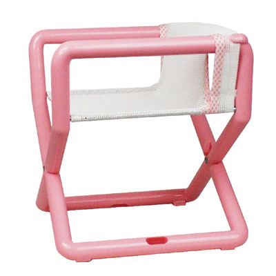 Hoohobbers Personalized Jr. Director's Chair/Booster - Pastel (Mesh)