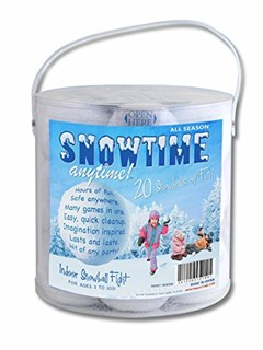 Indoor Snowballs - 20 pack
