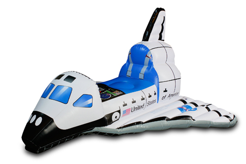Jr. Space Explorer Inflatable Space Shuttle