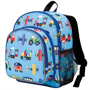 Kid Backpack - Trains, Planes and Trucks
