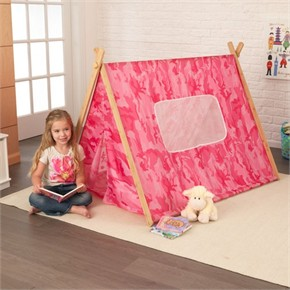 KidKraft Camo Tent - Pink