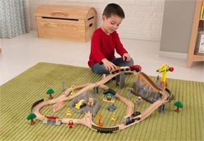 KidKraft Construction Train Set