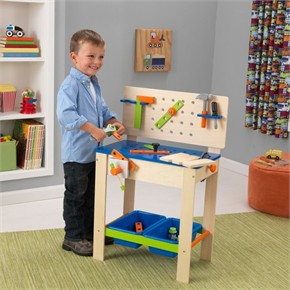 KidKraft Deluxe Toy Workbench with Tools