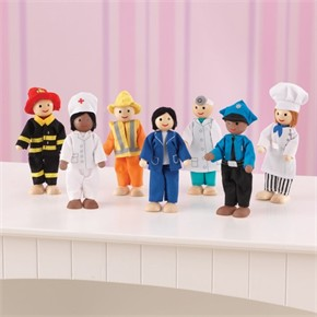 KidKraft Professionals Doll Set