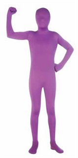 Kids 2nd Skin Purple Body Suit