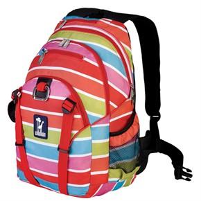 Kids Backpack - Bright Stripes