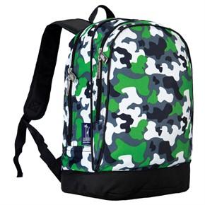 Kids Camo Backpack - Green