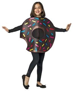Kids Chocolate Donut Costume 7-10