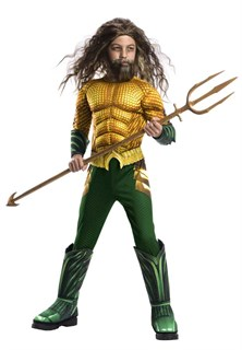 Kids Deluxe Aquaman Costume