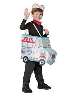 Kids Ice Cream Truck Costume 4-6X