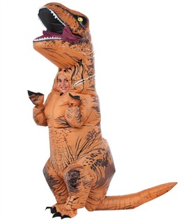 Kids Jurassic World Inflatable T Rex Costume