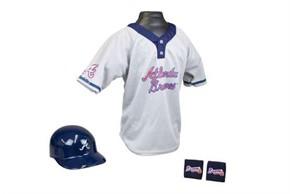 Kids MLB Uniform Set - Atlanta Braves