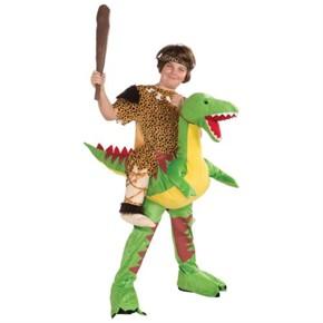 Kids Ride a Dinosaur Costume