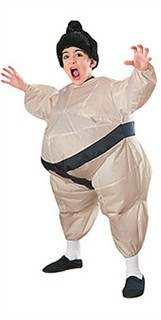 Kids Sumo Costume - Inflatable Sumo