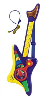 Kids Toy Guitar Set with Mic