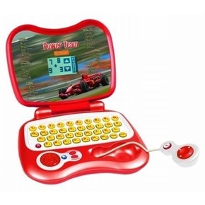 Kids Toy Laptop - Ferrari Power team