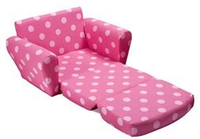 Kidz World Kids Sofa Bed Oxygen Pink