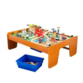 KidKraft A Ride Around Town Table And Train Set