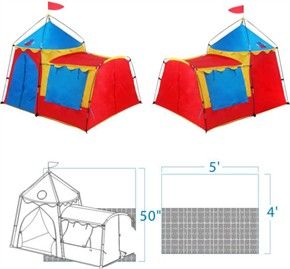 Knights Tower Gigatent Tent