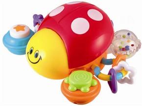 Ladybug Crawling Toy