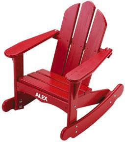 Little Colorado Personalized Child Adirondack Rocking Chair