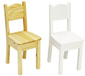 Little Colorado Wooden Kid Chair - Open Back