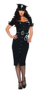 Lt Lockdown Sexy Cop Costume
