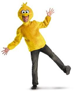 Men's Big Bird Sesame Street Costume