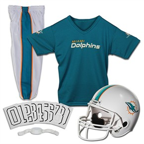 Miami Dolphins Youth Uniform Set