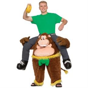 8563ea0c9b9f Monkeying Around Costume - Monkey Piggyback Costume