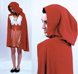 Adult Red Riding Hood Costume Cape