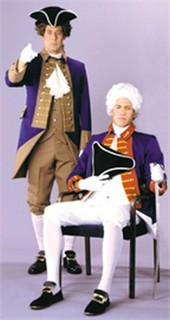 Adult Revolution British Officer Costume