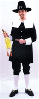 Adult Man Pilgrim Costume