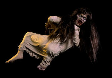 Scary Carrie Zombie Haunted House Prop