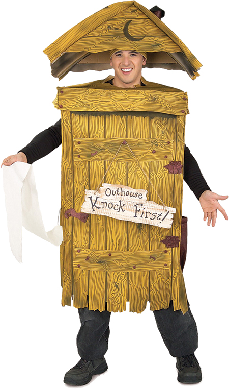 Adult Outhouse Funny Costume