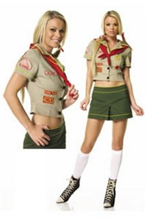 adult sexy scout costume