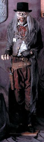 Old Deadeye Gunslinger Halloween Prop