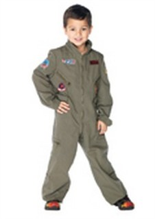Boys Top Gun Flight Suit
