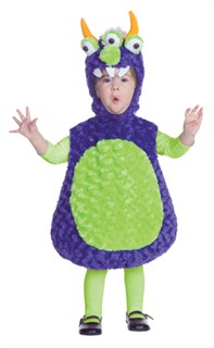 Toddler 3 Eyed Monster Costume