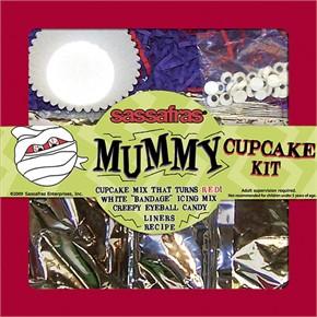 Mummy Cupcake Kit
